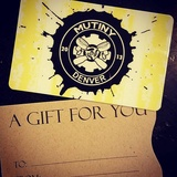 Mutiny Information Cafe Gift Card